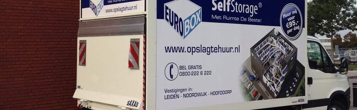 Ongekend Verhuiswagen huren - Eurobox Self Storage XH-88